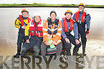 8690-8692.Kevin O'Connor, Ballybunion, of the Irish Coast Guard, centre with members of the Kerry Civil Defense Unit who took part in The Coastguard Joint Search and Rescue Competition which took place in Ballybunion on Saturday were l/r Alan Hill, Anthony O'Connor, Kevin O'Connor, Paddy O'Leary and John Lawlor.