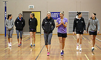14.07.2014 The Silver Ferns train in Auckland ahead of them leaving for the Commonwealth Games. Mandatory Photo Credit ©Michael Bradley.