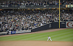 Derek Jeter (Yankees),<br /> SEPTEMBER 25, 2014 - MLB :<br /> Derek Jeter of the New York Yankees takes to the field in the ninth inning during the Major League Baseball game against the Baltimore Orioles at Yankee Stadium in the Bronx, New York, United States. (Photo by AFLO)
