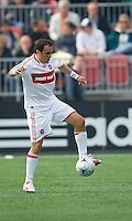 16 May 09: Chicago Fire midfielder Cuauhtemoc Blanco #10 in action at BMO Field in a game between the Chicago Fire and Toronto FC..Chicago Fire won 2-0..