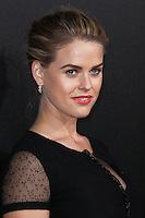 HOLLYWOOD, LOS ANGELES, CA, USA - MARCH 20: Alice Eve at the 2nd Annual Rebels With A Cause Gala Honoring Larry Ellison held at Paramount Studios on March 20, 2014 in Hollywood, Los Angeles, California, United States. (Photo by Xavier Collin/Celebrity Monitor)