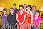 Members from the Southern Horse & Pony Club enjoying their annual social, pictured here last Saturday night in The Devon Inn, Templeglantine. F l-r: Bernadette Fitzgerald(Limerick), Hannah Willis(Cork), Chairperson-David Keane(Cork), Mary, Kevin and Sharon McGillicudy(Glenbeigh), Ellen Hayes(LImerick) and Patricia Costello(Clare).