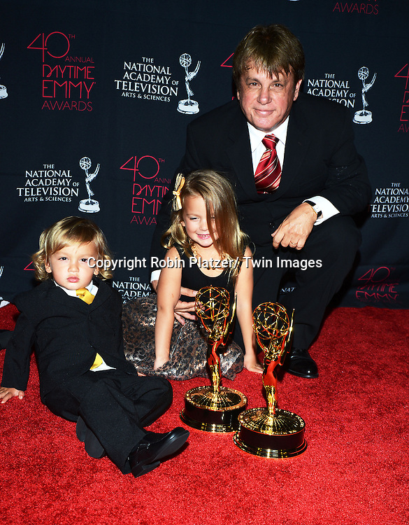 Jack Alocco and Nicholas and Catherine attends the 40th Annual Daytime Creative Arts Emmy Awards on June 14, 2013 at the Westin Bonaventure Hotel in Los Angeles, California.