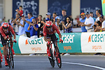 Nicolas Roche (IRL) Team Sunweb in action during Stage 1 of La Vuelta 2019, a team time trial running 13.4km from Salinas de Torrevieja to Torrevieja, Spain. 24th August 2019.<br /> Picture: Eoin Clarke | Cyclefile<br /> <br /> All photos usage must carry mandatory copyright credit (© Cyclefile | Eoin Clarke)