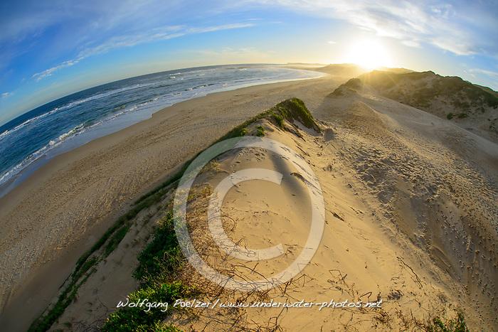 Strand von Sardinia Bay, Beach of Sardinia Bay, Porth Elizabeth, Suedafrika, Indischer Ocean, Porth Elizabeth, Südafrika, Suedafrika, Indischer Ocean