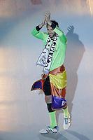 MADRID, ESPANHA, 25.05.2014 - COMEMORACAO REAL MADRID - Diego Lopes do Real Madrid comemoram a conquista da Liga dos Campeões no Estadio Santiago Bernabeu em Madri capital da Espanha, na noite deste domingo, 25.  Após a vitória no ultimo sabado por 4 a 1, na prorrogação, diante do Atlético de Madrid, no estádio da Luz, em Lisboa, Portugal. O Real conquistou a taça da Liga pela 10ª vez. (Foto: Cesar Cebolla / Alfaqui / Brazil Photo Press).
