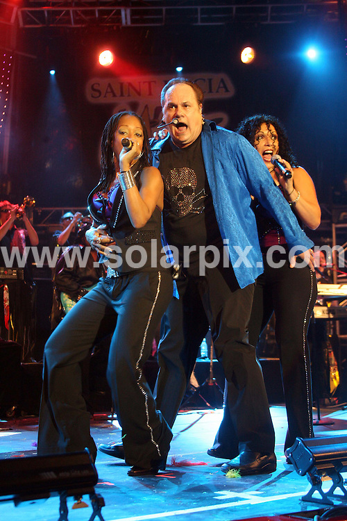 **ALL ROUND PICTURES FROM SOLARPIX.COM**.**WORLDWIDE SYNDICATION RIGHTS**.The 2009 St Lucia Jazz Festival, St Lucia. 15 May 2009..This pic: KC And The Sunshine Band..JOB REF: 9071 DFP     DATE: 15_05_2009.**MUST CREDIT SOLARPIX.COM OR DOUBLE FEE WILL BE CHARGED**.**ONLINE USAGE FEE GBP 50.00 PER PICTURE - NOTIFICATION OF USAGE TO PHOTO @ SOLARPIX.COM**.**CALL SOLARPIX : +34 952 811 768 or LOW RATE FROM UK 0844 617 7637**