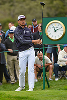Rafael Cabrera Bello (ESP) watches his tee shot on 10 during round 3 of the 2019 US Open, Pebble Beach Golf Links, Monterrey, California, USA. 6/15/2019.<br /> Picture: Golffile | Ken Murray<br /> <br /> All photo usage must carry mandatory copyright credit (© Golffile | Ken Murray)