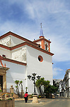 Church historic village of Cortes de la Frontera, Serrania de Ronda, Malaga province, southern Spain