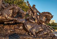 Grant Memorial - Statue Calvary Group at the Grant Memorial