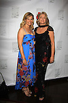 """Days of Our Lives Shannon Sturges """"Molly"""" and Port Charles and Passions & Guiding Light Denise Pence (Rehearsal Club Vice Chair) - On June 29, 2013 The Rehearsal Club celebrates 100 years with Cocktails, photos & Networking, Buffet Dinner, awards, presentations and entertainment at the Players Club, New York City, New York. (Photo by Sue Coflin/Max Photos)"""