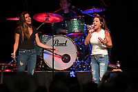 HOLLYWOOD FL - FEBRUARY 10: Jessie G and Gretchen Wilson perform during the 48th annual Seminole Tribal Fair at the Hard Rock Events Center held at the Seminole Hard Rock Hotel & Casino on February 10, 2019 in Hollywood, Florida. Credit: mpi04/MediaPunch