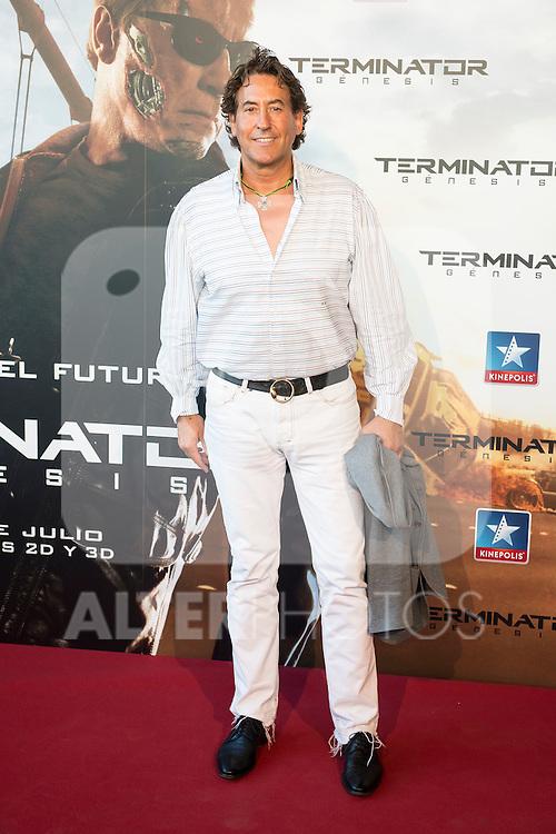 Sportsman Alvaro de Marichalar attends to the premiere of Terminator Genesis at Kinepolis Cinema in Madrid, Spain. July 08, 2015.<br />  (ALTERPHOTOS/BorjaB.Hojas)
