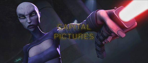 ASAJJ VENTRESS (Nika Futterman).in Star Wars: The Clone Wars.*Filmstill - Editorial Use Only*.CAP/FB.Supplied by Capital Pictures.