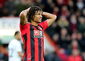 3rd December 2017, Vitality Stadium, Bournemouth, England; EPL Premier League football, Bournemouth versus Southampton; Nathan Ake of Bournemouth holds his head at full time
