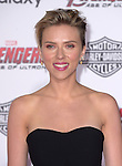 "Scarlett Johansson attends The World Premiere of Marvel's ""Avengers"" Age of Ultron,"" held at The Dolby Theatre in Hollywood, California on April 13,2015                                                                               © 2014 Hollywood Press Agency"