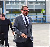 BNPS.co.uk (01202 558833)<br /> Pic: Graham Hunt/BNPS<br /> <br /> Drug driving trial at Poole Magistrates Court in Dorset for Mark Redknapp.  <br /> <br /> Mark Redknapp leaving the court today (18/4/19).