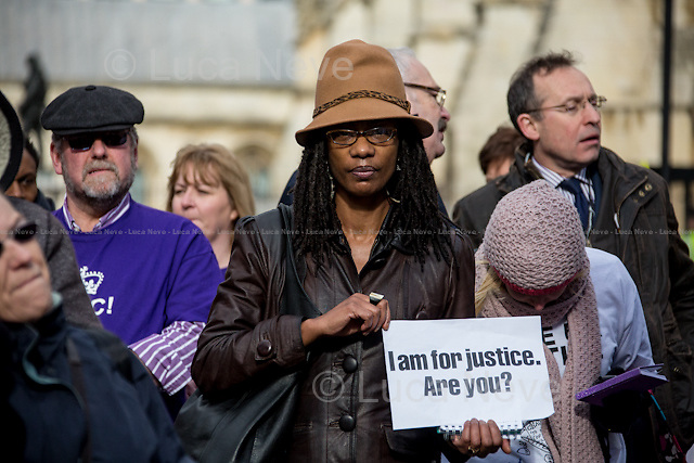 Marcia Rigg (Sean Rigg's sister, Justice for Sean Rigg Campaign / Death in Custody Campaign).<br />