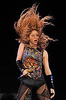JUN 11 Shakira performing at the O2 Arena