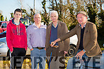 l-r  Thomas Healy, Mark Reidy, John Leen and Thomas Harrington at the Annual Ploughing Match in Ballyheigue,  held in the Rectory Field, Flahive Family on Sunday