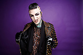 Motionless in White - vocalist Chris Cerulli - Photosession in London UK - 07 Mar 2017.  Photo credit: Paul Harries/IconicPix  **NOT AVAILABLE FOR UK MUSIC MAGAZINES**