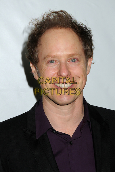 Raphael Sbarge.Disney ABC 2012 TCA Winter Press Tour held at the Langham Huntington Hotel, Pasadena, California, USA..January 10th, 2012.headshot portrait purple shirt black.CAP/ADM/BP.©Byron Purvis/AdMedia/Capital Pictures.