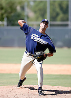 Tyson Bagley / San Diego Padres 2008 Instructional League..Photo by:  Bill Mitchell/Four Seam Images