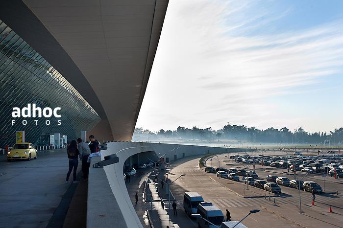 Aeropuerto de Carrasco, 2013.<br /> URUGUAY / MONTEVIDEO / <br /> Foto: Ricardo Ant&uacute;nez / AdhocFotos<br /> www.adhocfotos.com