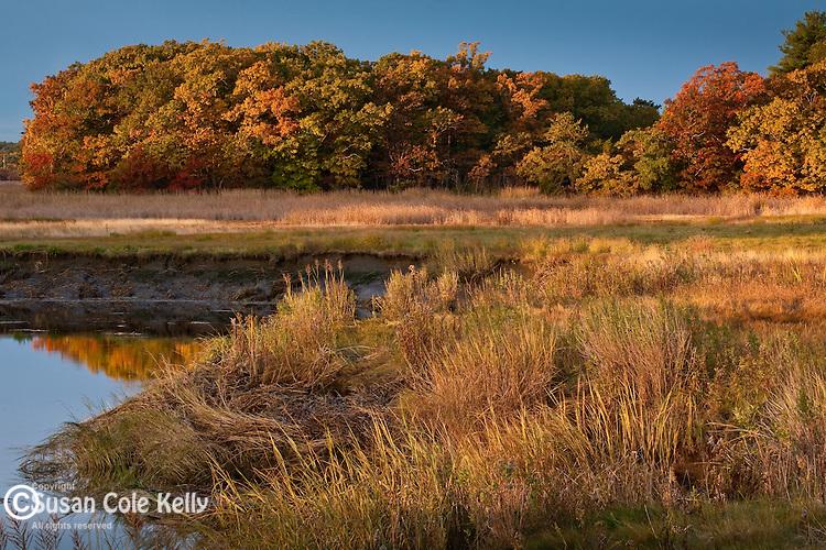 Parker River and the Newbury Saltmarsh, Newbury, MA, USA