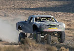 August 19, 2011:  Southern California's BJ Baldwin flies through the air in the desert outside Fallon in the Las Vegas to Reno Best in the Desert Off Road Race on Friday afternoon.  Baldwin finished second overall.