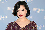 Dita Von Teese attend the Belvedere Vodka Event at Old Principe Pio Station, Madrid,  Spain. March 24, 2015.(ALTERPHOTOS/)Carlos Dafonte)