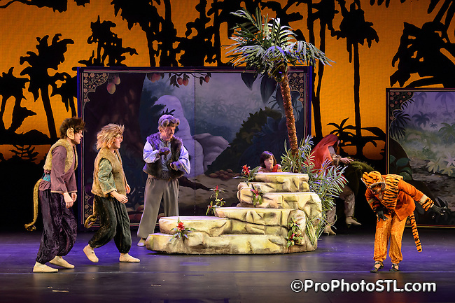 The Jungle Book presented by STAGES St. Louis at Skip Viragh Performing Arts Center in St. Louis, MO on June 21, 2012.