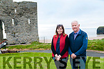Ballybunionm Community Forum members Grainne Toomey & Donal Liston pictured on the Castle Green who received €100k funding to improve the beach area.