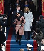 Eva Longoria arrives for President Barack Obama to be sworn-in for a second term as the President of the United States by Supreme Court Chief Justice John Roberts during his public inauguration ceremony at the U.S. Capitol Building in Washington, D.C. on January 21, 2013.       .Credit: Pat Benic / Pool via CNP