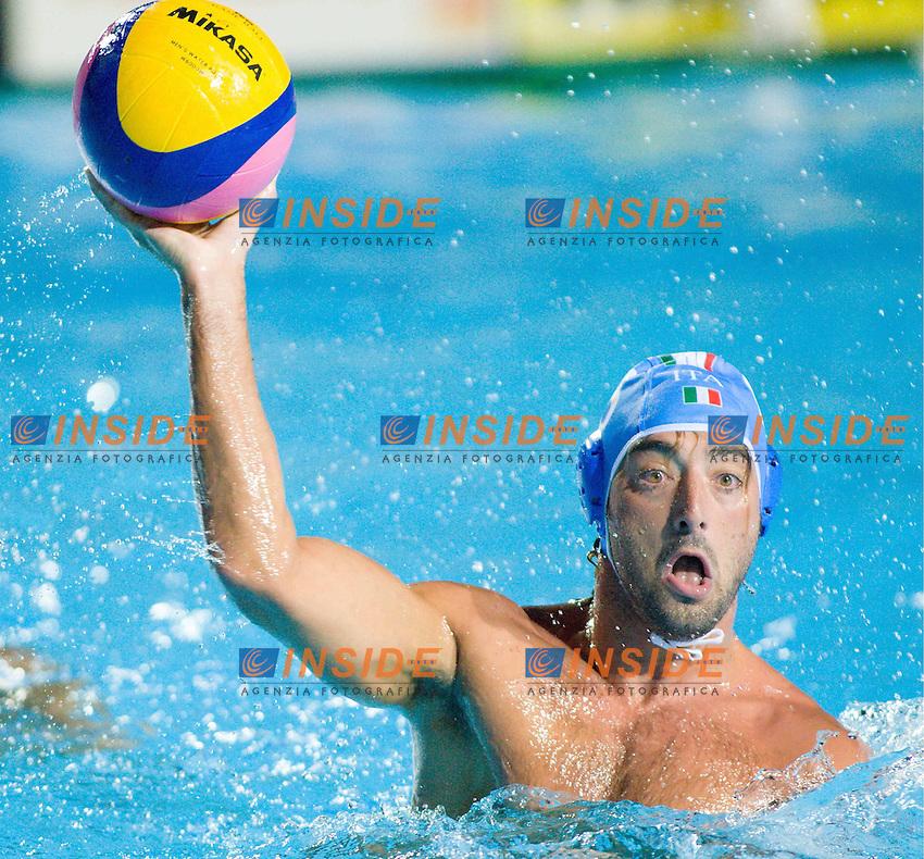 Roma 20th July 2009 - 13th Fina World Championships From 17th to 2nd August 2009..Water Polo..Italy - USA Felugo Maurizio..photo: Roma2009.com/InsideFoto/SeaSee.com
