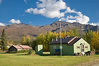 Wiseman Alaska, situated at the base of the Brooks Range, Arctic, Alaska.