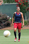 29 July 2006: Natasha Kai (USA). The United States Women's National Team trained at SAS Stadium in Cary, North Carolina, in preparation for an International Friendly match against Canada to be played on Sunday, July 30.