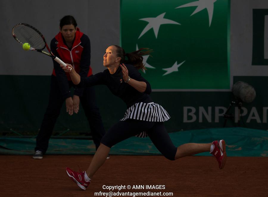 JELENA JANKOVIC (SRB)<br /> <br /> Tennis - French Open 2014 -  Toland Garros - Paris -  ATP-WTA - ITF - 2014  - France -  26 May 2014. <br /> <br /> &copy; AMN IMAGES