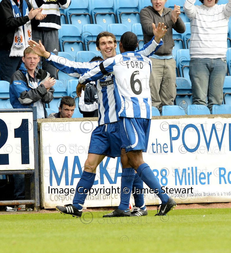 17/05/2008   Copyright Pic: James Stewart.File Name : sct_jspa18_kilmarnock_v_falkirk.PAUL DI GIACOMO CELEBRATES AFTER HE SCORES KILMARNOCK'S SECOND.James Stewart Photo Agency 19 Carronlea Drive, Falkirk. FK2 8DN      Vat Reg No. 607 6932 25.Studio      : +44 (0)1324 611191 .Mobile      : +44 (0)7721 416997.E-mail  :  jim@jspa.co.uk.If you require further information then contact Jim Stewart on any of the numbers above........