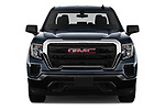 Car photography straight front view of a 2019 GMC Sierra-1500 WT 4 Door Pick-up Front View