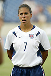 3 July 2004: Shannon Boxx. The United States beat Canada 1-0 at the The Coliseum in Nashville, TN in an womens international friendly soccer game..