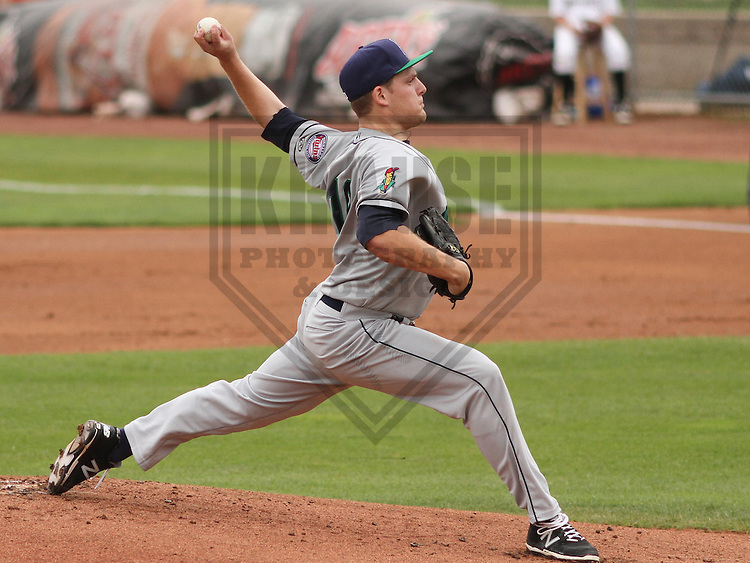 APPLETON - June 2015: Cedar Rapids Kernels pitcher Luke Westphal (18) during a Midwest League baseball game against the Wisconsin Timber Rattlers on June 30th, 2015 at Fox Cities Stadium in Appleton, Wisconsin. Cedar Rapids defeated Wisconsin 3-2. (Brad Krause/Krause Sports Photography)