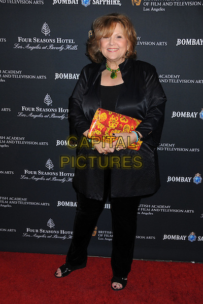 BRENDA VACCARO .17th Annual BAFTA Los Angeles Awards Season Tea Party held at the Four Seasons Hotel, Beverly Hills, California, USA, 15th January 2011..full length black  green necklace coat jacket trousers .CAP/ADM/BP.©Byron Purvis/AdMedia/Capital Pictures.