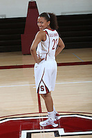 STANFORD, CA - SEPTEMBER 28:  Rosalyn Gold-Onwude during picture day on September 28, 2009 at Maples Pavilion in Stanford, California.