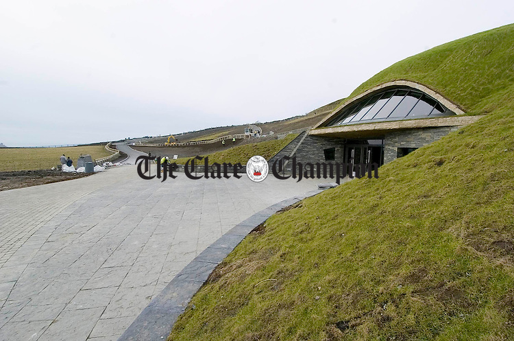 An Exterior view of the new Cliffs of Moher Centre. Photograph by John Kelly.