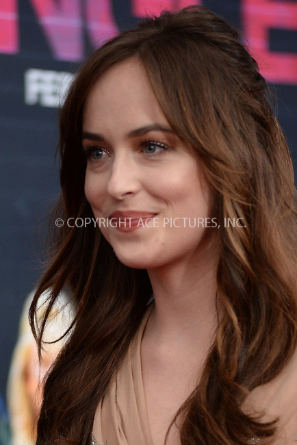 WWW.ACEPIXS.COM<br /> February 3, 2016 New York City<br /> <br /> Dakota Johnson attending the 'How To Be Single' New York premiere at NYU Skirball Center on February 3, 2016 in New York City.<br /> <br /> Credit: Kristin Callahan/ACE Pictures<br /> Tel: (646) 769 0430<br /> e-mail: info@acepixs.com<br /> web: http://www.acepixs.com