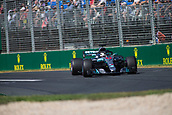 23rd March 2018, Melbourne Grand Prix Circuit, Melbourne, Australia; Melbourne Formula One Grand Prix, Friday free practice; The number 44 Mercedes AMG Petronas driven by Lewis Hamilton