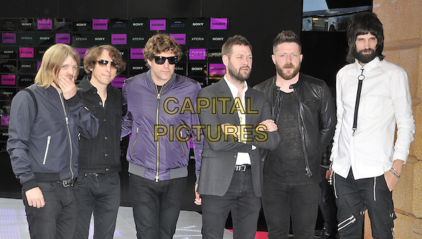 LONDON, ENGLAND - JULY 13: Kasabian attend the 'Kasabian Summer Solstice 2014 gig' VIP screening, Vue West End cinema, Leicester Square, on Wednesday July 16, 2014 in London, England, UK. <br /> CAP/CAN<br /> &copy;Can Nguyen/Capital Pictures