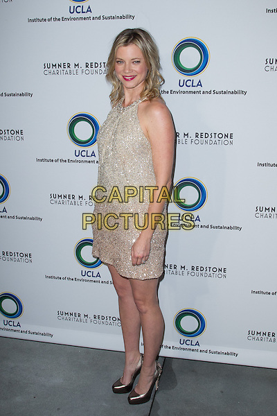 Amy Smart.2nd Annual An Evening of Environmental Excellence Gala, Beverly Hills, California, USA..March 5th, 2013.full length silver beads beaded sleeveless dress .CAP/ADM/JSA.©John Salangsang/AdMedia/Capital Pictures.