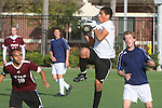 El Segundo, CA 02/04/10 - Gabe Williams (Torrance #1) in action during the El Segundo - Torrance league game, El Segundo defeated Torrance with a late minute goal in the second overtime period.